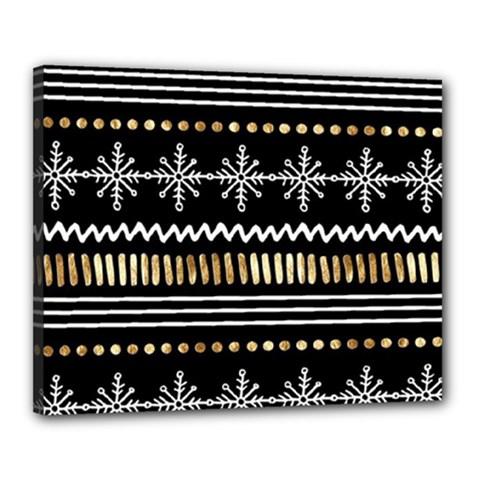 Kawaii Pattern Canvas 20  X 16