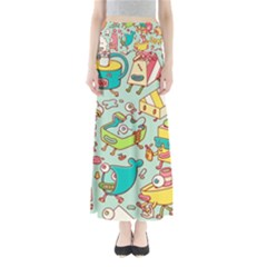 Summer Up Pattern Maxi Skirts