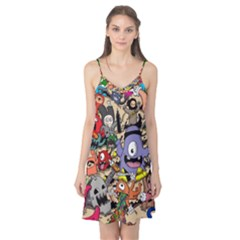 Hipster Wallpaper Pattern Camis Nightgown