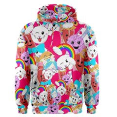 Cute Cartoon Pattern Men s Pullover Hoodie