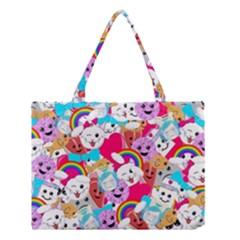 Cute Cartoon Pattern Medium Tote Bag