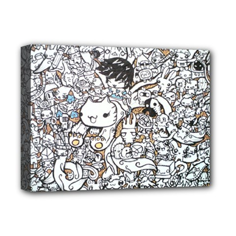 Cute Doodles Deluxe Canvas 16  X 12