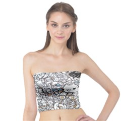 Cute Doodles Tube Top