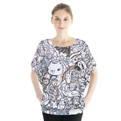 Cute Doodles Blouse