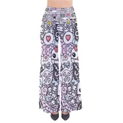 Kawaii Graffiti And Cute Doodles Pants