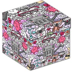 0 Sad War Kawaii Doodle Storage Stool 12