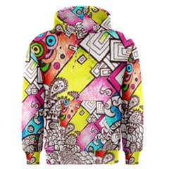 Beautiful Colorful Doodle Men s Pullover Hoodie