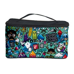 Colorful Drawings Pattern Cosmetic Storage Case