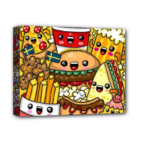 Cute Food Wallpaper Picture Deluxe Canvas 14  x 11