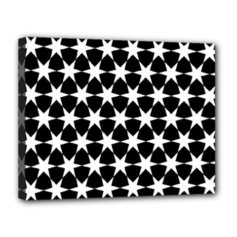 Star Egypt Pattern Canvas 14  X 11