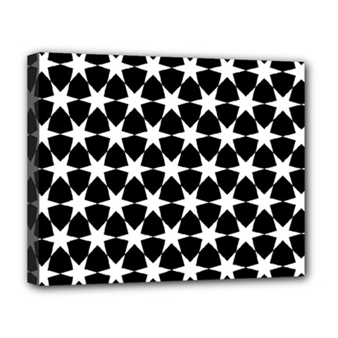 Star Egypt Pattern Deluxe Canvas 20  X 16