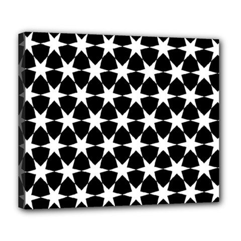 Star Egypt Pattern Deluxe Canvas 24  x 20