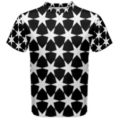 Star Egypt Pattern Men s Cotton Tee