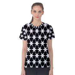 Star Egypt Pattern Women s Cotton Tee
