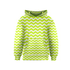 Chevron Background Patterns Kids  Pullover Hoodie
