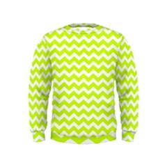Chevron Background Patterns Kids  Sweatshirt