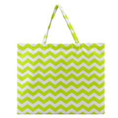 Chevron Background Patterns Zipper Large Tote Bag
