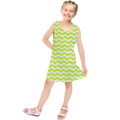 Chevron Background Patterns Kids  Tunic Dress