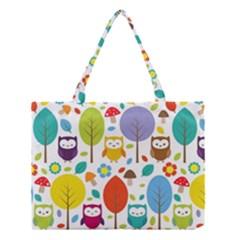 Cute Owl Medium Tote Bag