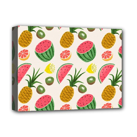Fruits Pattern Deluxe Canvas 16  x 12