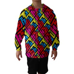 Hert Graffiti Pattern Hooded Wind Breaker (kids)