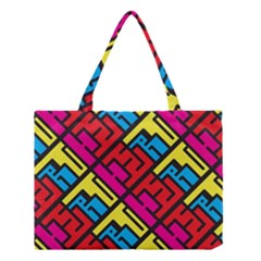 Hert Graffiti Pattern Medium Tote Bag