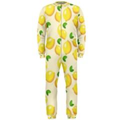 Lemons Pattern Onepiece Jumpsuit (men)