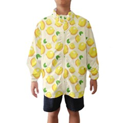 Lemons Pattern Wind Breaker (kids)