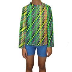 Patterns For Wallpaper Kids  Long Sleeve Swimwear
