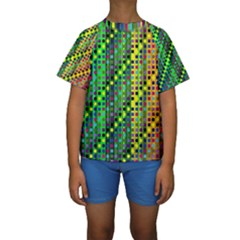 Patterns For Wallpaper Kids  Short Sleeve Swimwear
