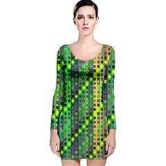 Patterns For Wallpaper Long Sleeve Velvet Bodycon Dress