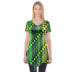 Patterns For Wallpaper Short Sleeve Tunic