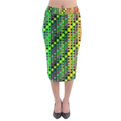 Patterns For Wallpaper Midi Pencil Skirt