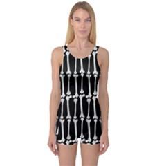 Bones  One Piece Boyleg Swimsuit