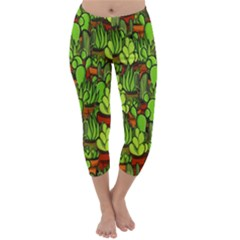 Cactus Capri Winter Leggings