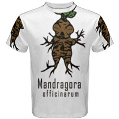 Mandrake plant Men s Cotton Tee