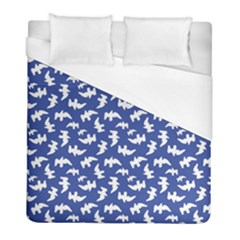 Birds Silhouette Pattern Duvet Cover (full/ Double Size)