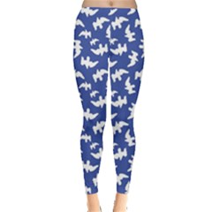 Birds Silhouette Pattern Leggings
