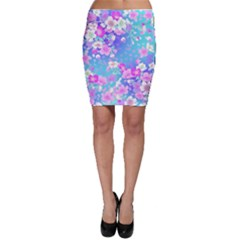 Flowers Cute Pattern Bodycon Skirt