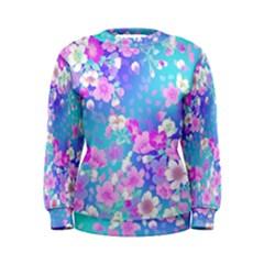 Flowers Cute Pattern Women s Sweatshirt