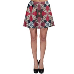Beautiful Art Pattern Skater Skirt