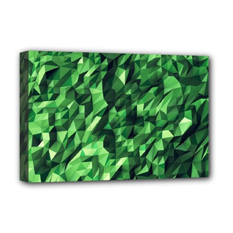 Green Attack Deluxe Canvas 18  X 12