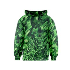 Green Attack Kids  Pullover Hoodie
