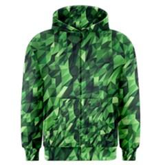 Green Attack Men s Zipper Hoodie