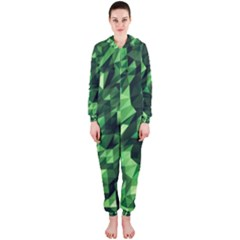 Green Attack Hooded Jumpsuit (ladies)