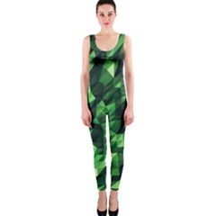 Green Attack Onepiece Catsuit