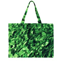 Green Attack Large Tote Bag