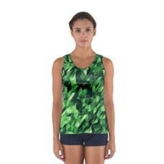 Green Attack Women s Sport Tank Top