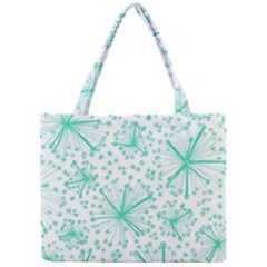 Pattern Floralgreen Mini Tote Bag