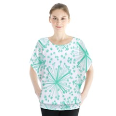 Pattern Floralgreen Blouse